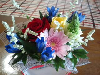 嬉しいお花♪