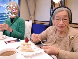 母と新年会♪