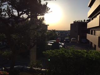 朝の太陽と 一緒に♪