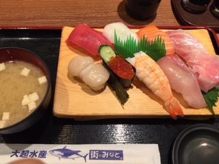 イートインの お寿司♪