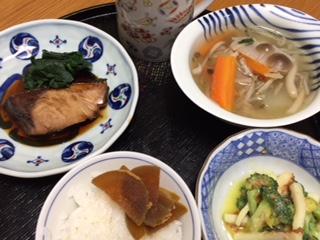 晩ご飯ですょ〜♪