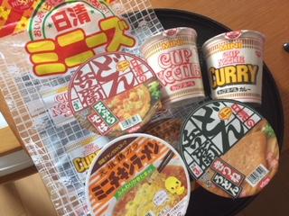 ミニカップ麺♪